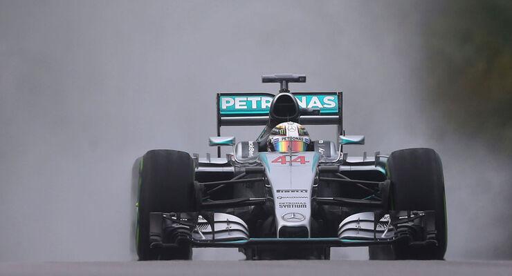 Lewis Hamilton - Mercedes - GP Malaysia - Qualifikation