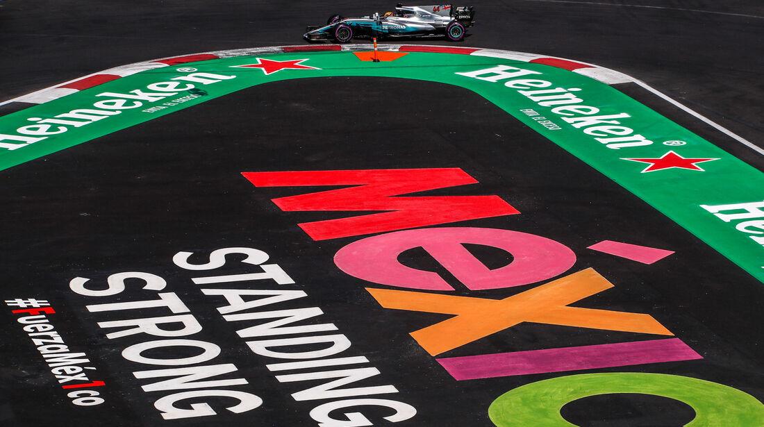 Lewis Hamilton - Mercedes - GP Mexiko 2017 - Qualifying
