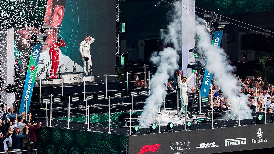 Lewis Hamilton - Mercedes - GP Mexiko 2019