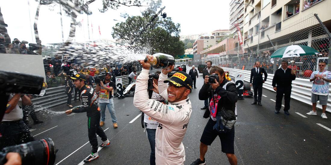 Lewis Hamilton - Mercedes - GP Monaco 2016