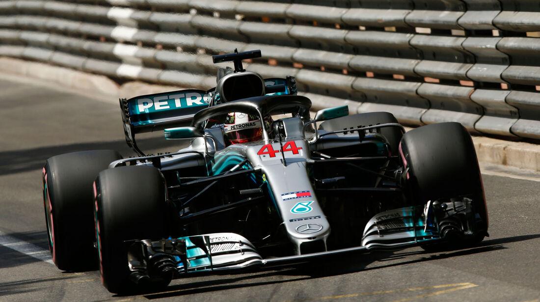 Lewis Hamilton - Mercedes - GP Monaco - Formel 1 - Samstag - 26.5.2018