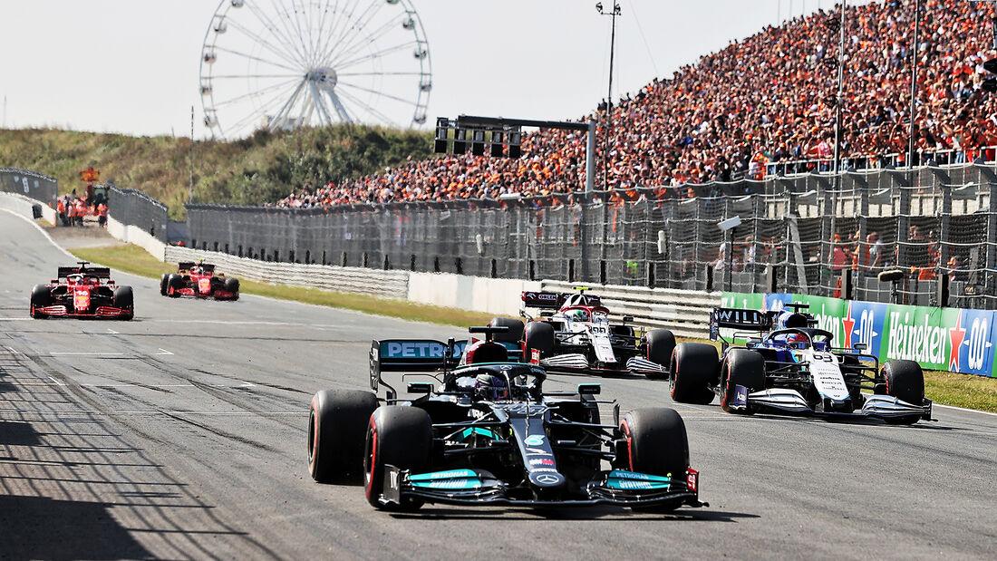 Lewis Hamilton - Mercedes - GP Niederlande - Zandvoort - Formel 1 - 3. September 2021