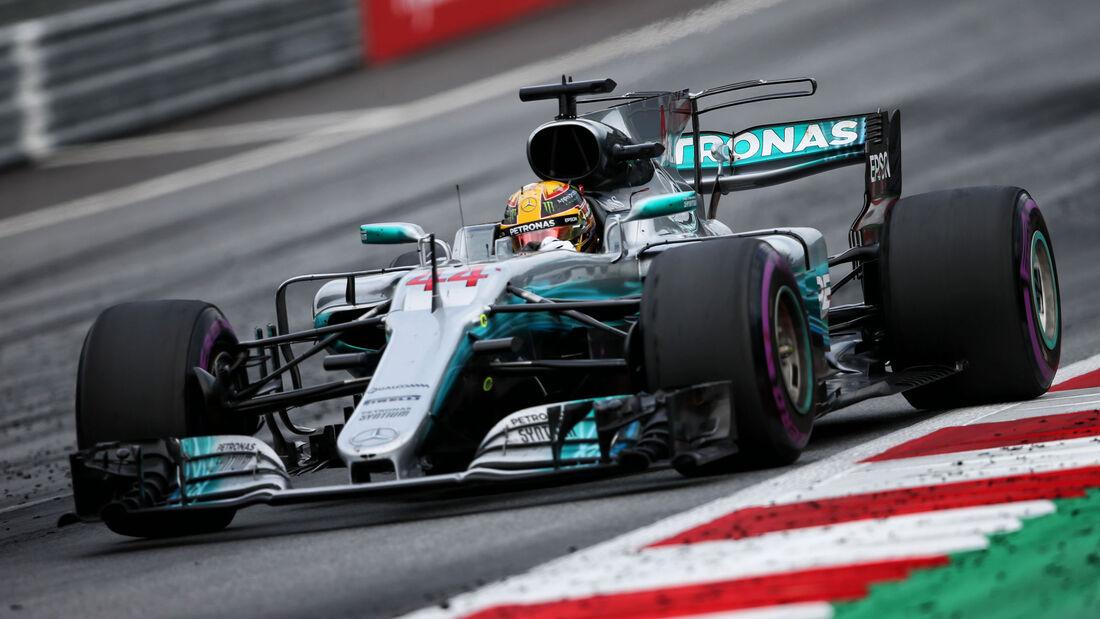 Lewis Hamilton - Mercedes - GP Österreich 2017 - Spielberg - Rennen