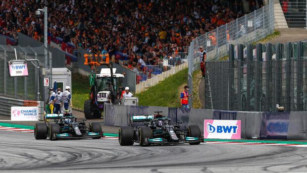 Lewis Hamilton - Mercedes - GP Österreich 2021 - Speilberg - Rennen