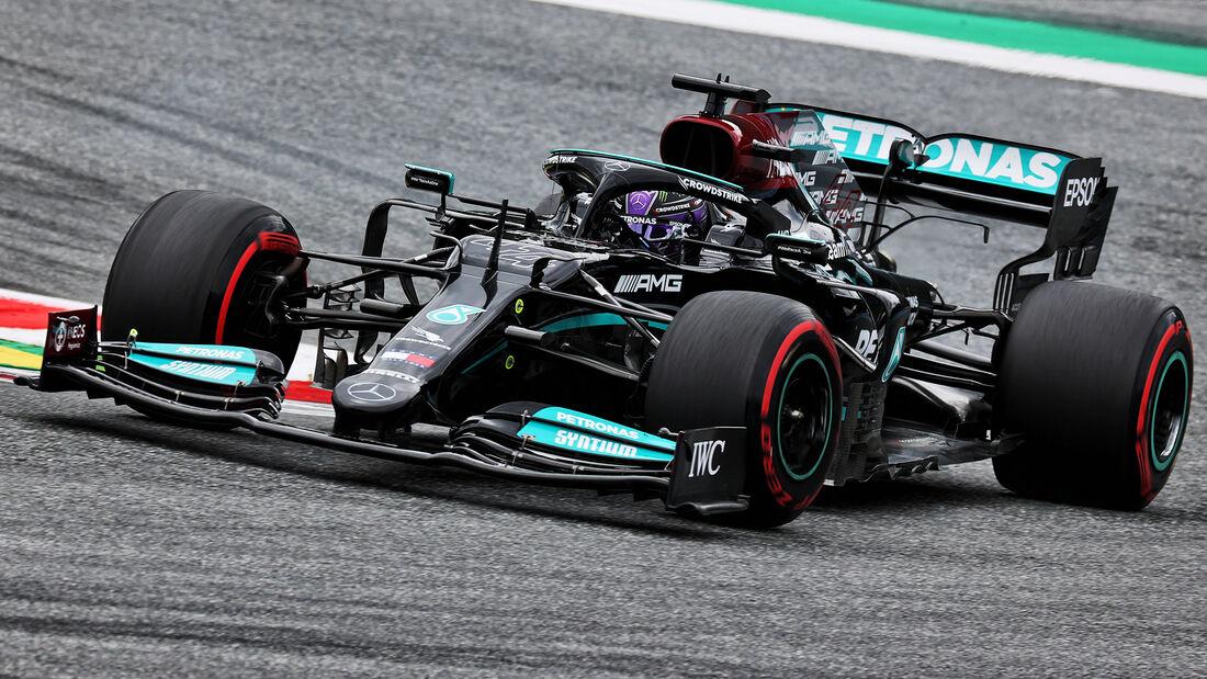 Lewis Hamilton - Mercedes - GP Österreich 2021 - Spielberg