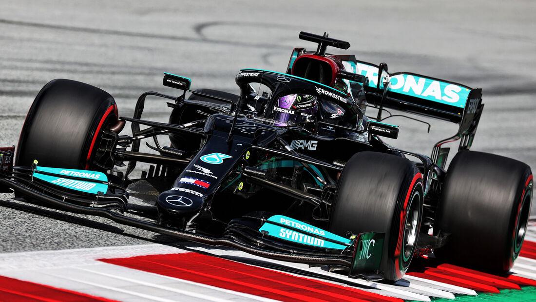 Lewis Hamilton - Mercedes - GP Österreich 2021 - Spielberg - Qualifikation
