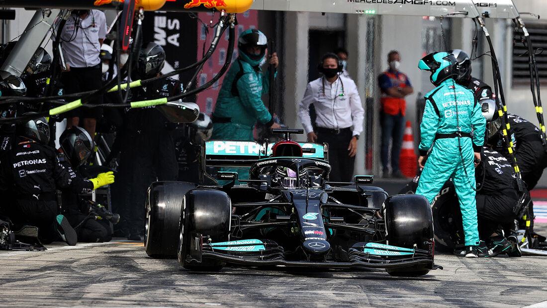 Lewis Hamilton - Mercedes - GP Österreich 2021 - Spielberg - Rennen