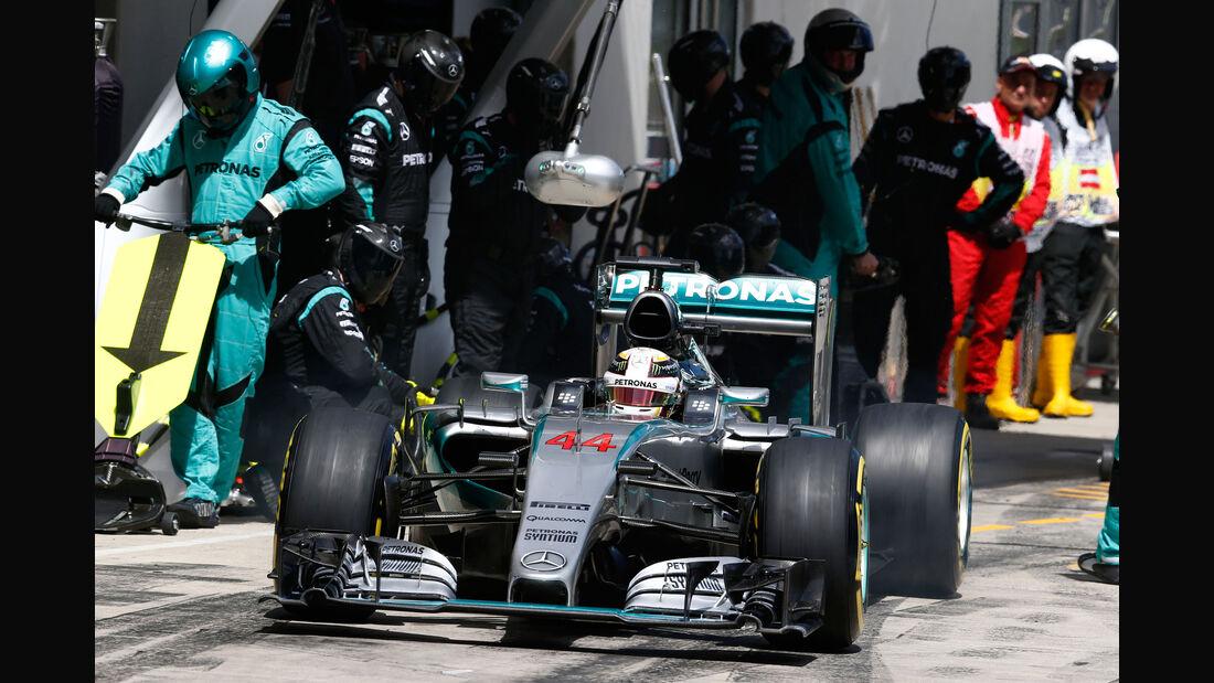 Lewis Hamilton - Mercedes - GP Österreich - Formel 1 - Sonntag - 21.6.2015