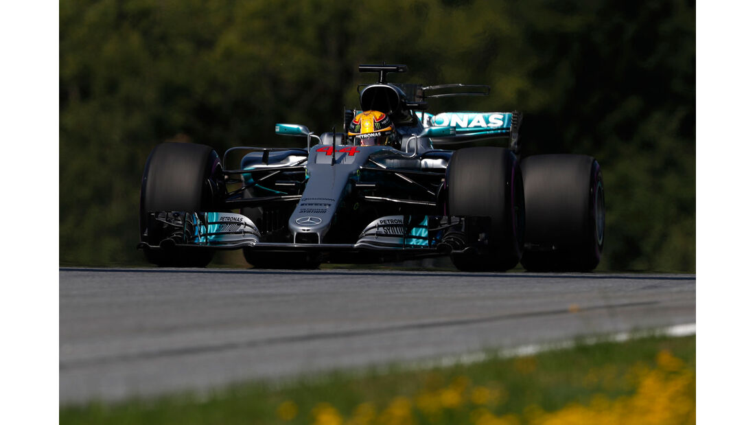 Lewis Hamilton - Mercedes - GP Österreich - Spielberg - Formel 1 - Freitag - 7.7.2017