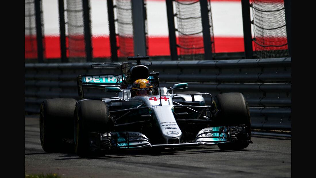 Lewis Hamilton - Mercedes - GP Österreich - Spielberg - Formel 1 - Freitag - 8.7.2017