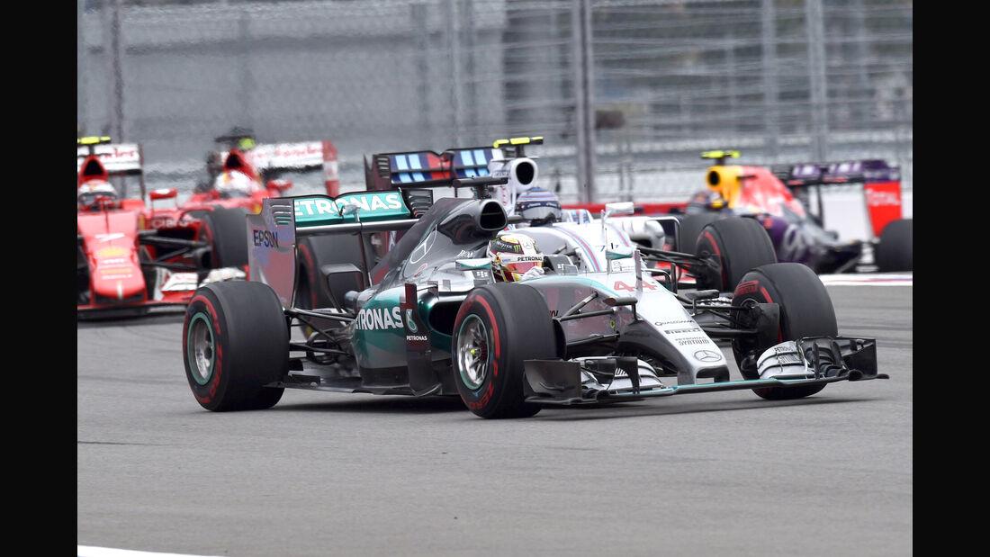 Lewis Hamilton - Mercedes - GP Russland 2015