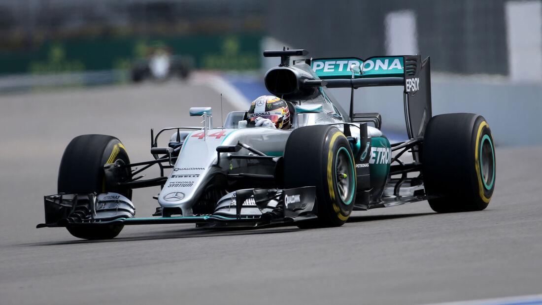 Lewis Hamilton - Mercedes - GP Russland 2016 - Freitag