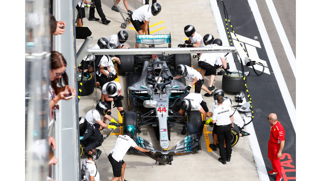 Lewis Hamilton - Mercedes - GP Russland 2018 - Sotschi - Rennen