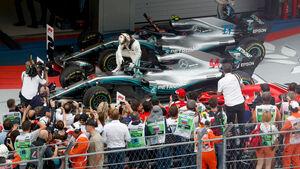 Lewis Hamilton - Mercedes - GP Russland 2018