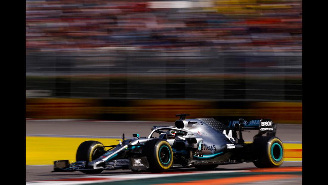 Lewis Hamilton - Mercedes - GP Russland 2019 - Sochi Autodrom - Rennen