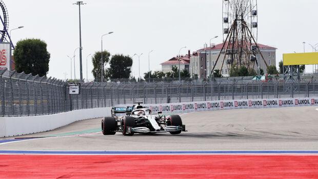 Lewis Hamilton - Mercedes - GP Russland 2019 - Sotschi