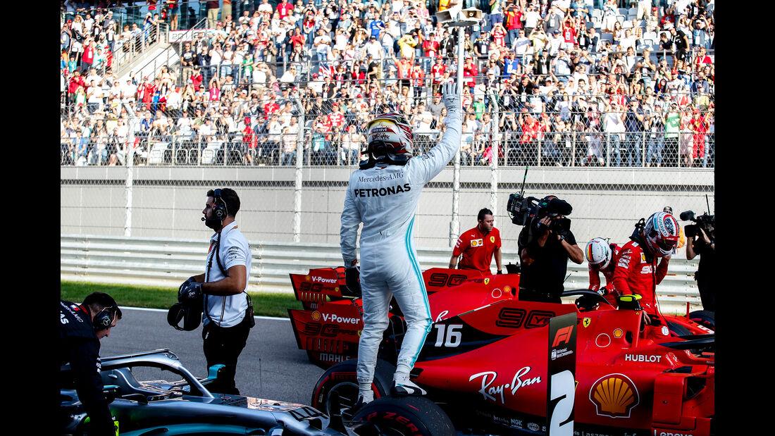 Lewis Hamilton - Mercedes - GP Russland 2019 - Sotschi - Qualifying