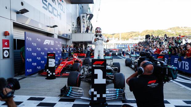 Lewis Hamilton - Mercedes - GP Russland 2019 - Sotschi - Rennen
