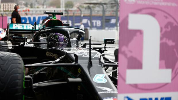 Lewis Hamilton - Mercedes - GP Russland 2021 - Sotschi