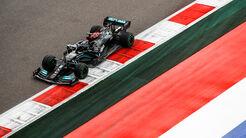 Lewis Hamilton - Mercedes - GP Russland 2021 - Sotschi - Samstag