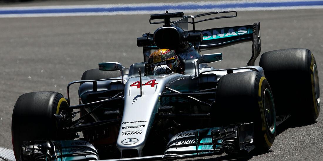 Lewis Hamilton - Mercedes - GP Russland - Sotschi  - Formel 1 - 28. April 2017