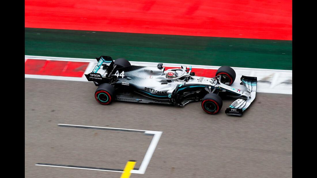 Lewis Hamilton - Mercedes - GP Russland - Sotschi - Formel 1 - Freitag - 27.9.2019