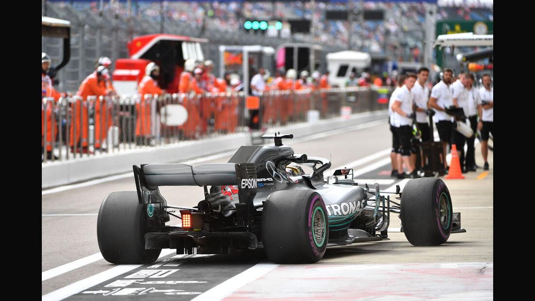 Lewis Hamilton - Mercedes - GP Russland - Sotschi - Formel 1 - Freitag - 28.9.2018
