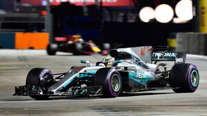 Lewis Hamilton - Mercedes - GP Singapur 2017
