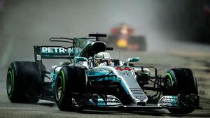 Lewis Hamilton - Mercedes - GP Singapur 2017 - Rennen