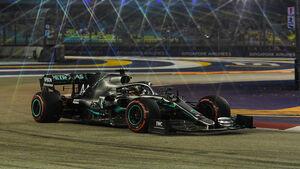 Lewis Hamilton - Mercedes - GP Singapur 2019