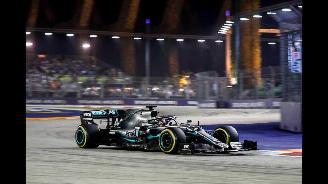 Lewis Hamilton - Mercedes - GP Singapur 2019 - Qualifying
