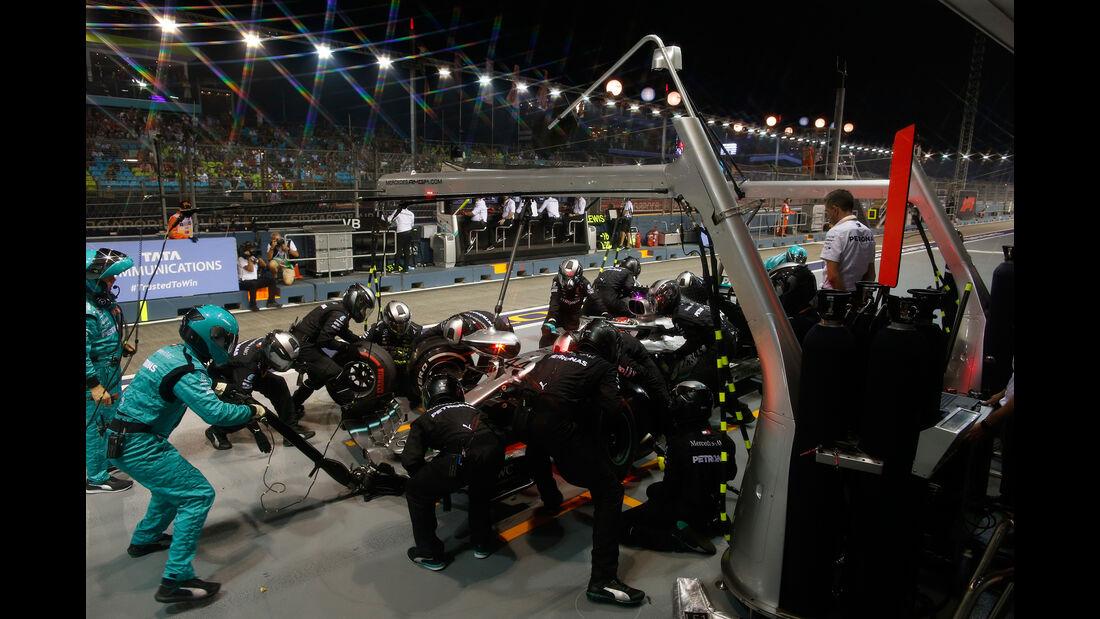 Lewis Hamilton - Mercedes - GP Singapur 2019 - Rennen