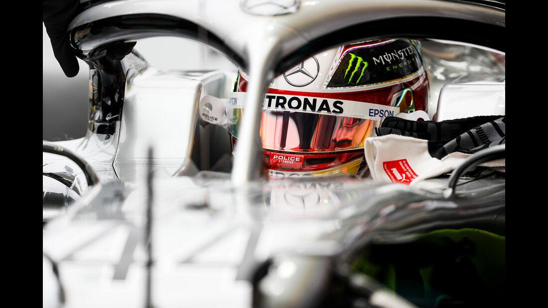 Lewis Hamilton - Mercedes - GP Singapur - Formel 1 - Freitag - 20.9.2019