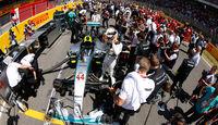 Lewis Hamilton - Mercedes - GP Spanien 2015 - Rennen - Sonntag - 10.5.2015