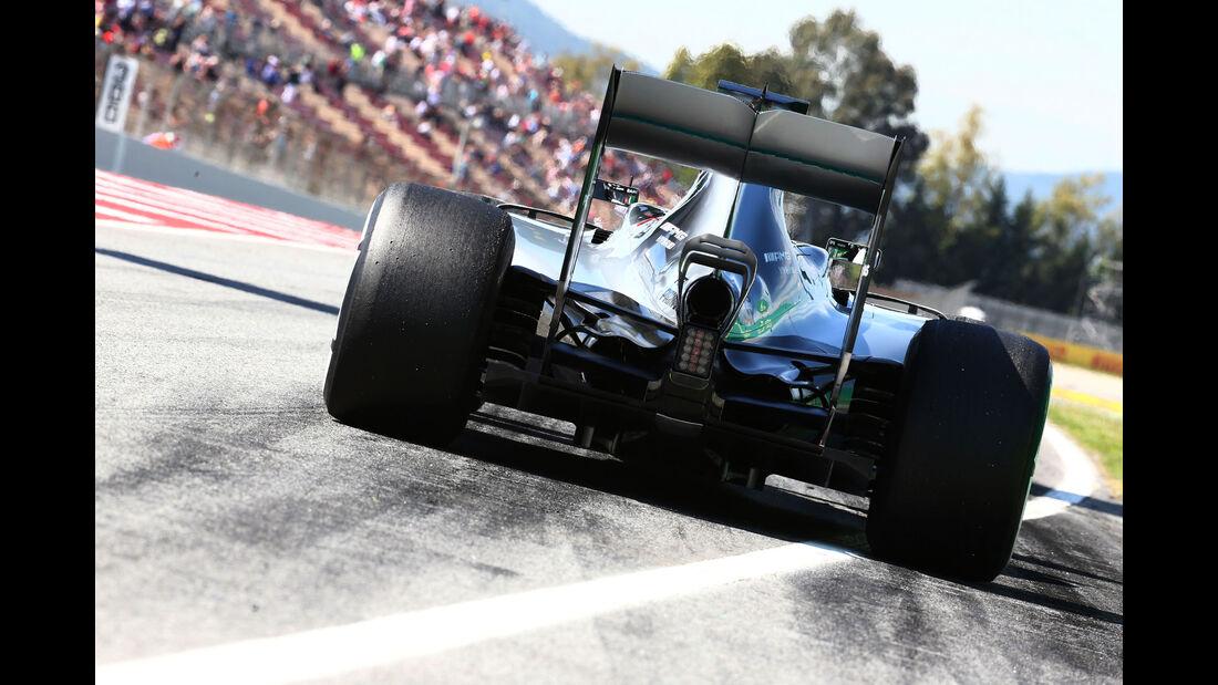 Lewis Hamilton - Mercedes - GP Spanien 2016 - Barcelona - F1 - Freitag - 13.5.2016