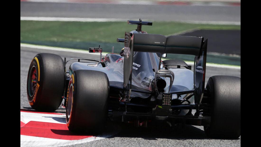 Lewis Hamilton - Mercedes - GP Spanien 2016 - Qualifying - Samstag - 14.5.2016