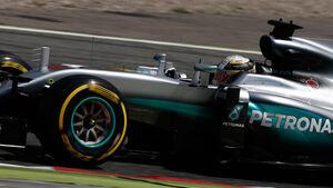 Lewis Hamilton - Mercedes - GP Spanien 2016 - Samstag - 14.5.2016
