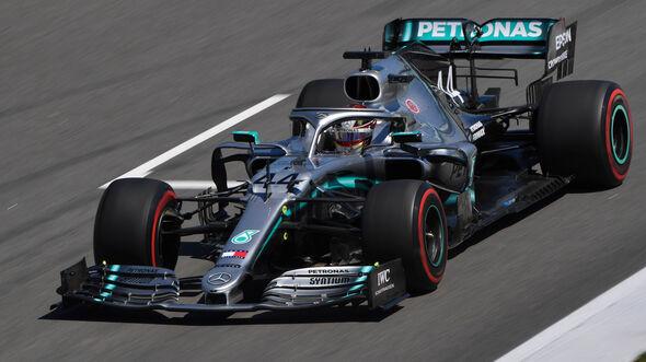 Lewis Hamilton - Mercedes - GP Spanien 2019