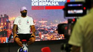 Lewis Hamilton - Mercedes - GP Spanien 2020