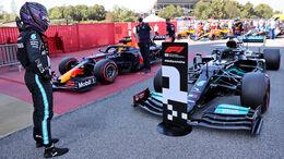 Lewis Hamilton - Mercedes - GP Spanien 2021