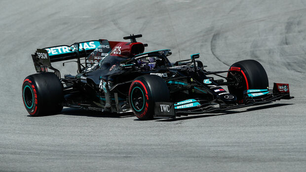 Lewis Hamilton - Mercedes - GP Spanien 2021 - Barcelona