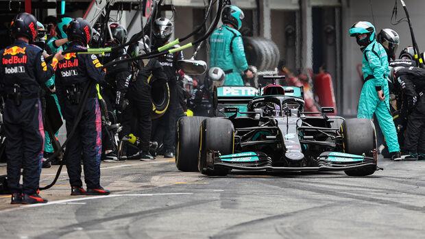 Lewis Hamilton - Mercedes -. GP Spanien 2021 - Barcelona