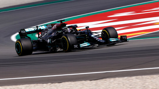 Lewis Hamilton - Mercedes - GP Spanien 2021 - Training