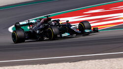 Lewis Hamilton - Mercedes - GP Spanien 2021 - Training