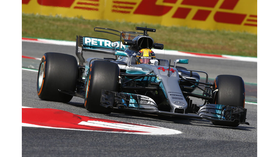 Lewis Hamilton - Mercedes - GP Spanien - Barcelona - 12. Mai 2017
