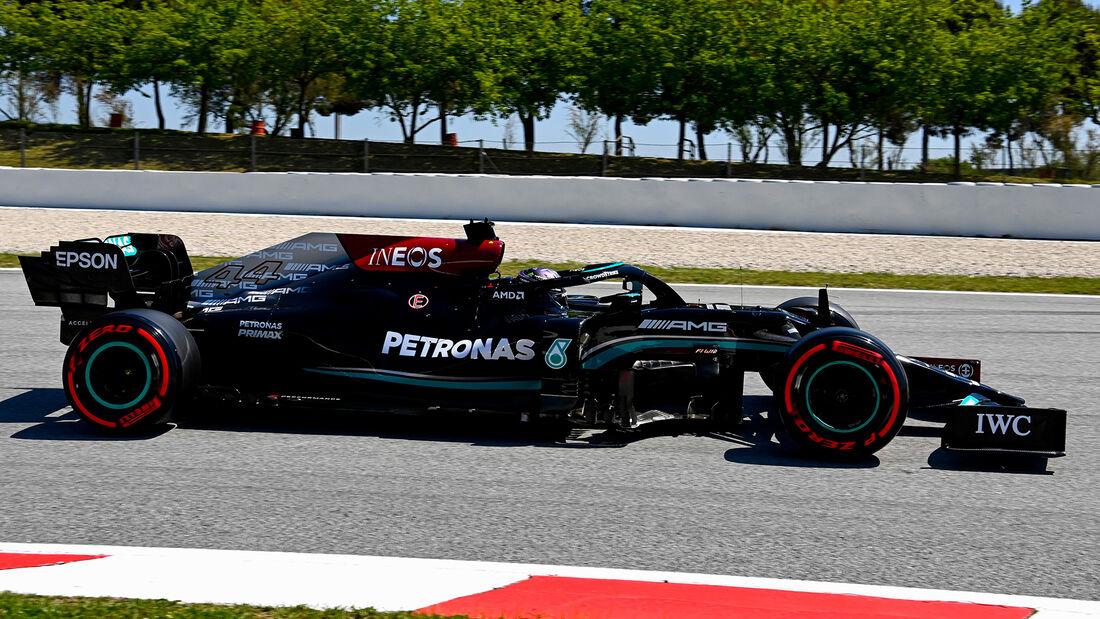 Lewis Hamilton - Mercedes - GP Spanien - Barcelona - Formel 1 - Samstag - 8.05.2021
