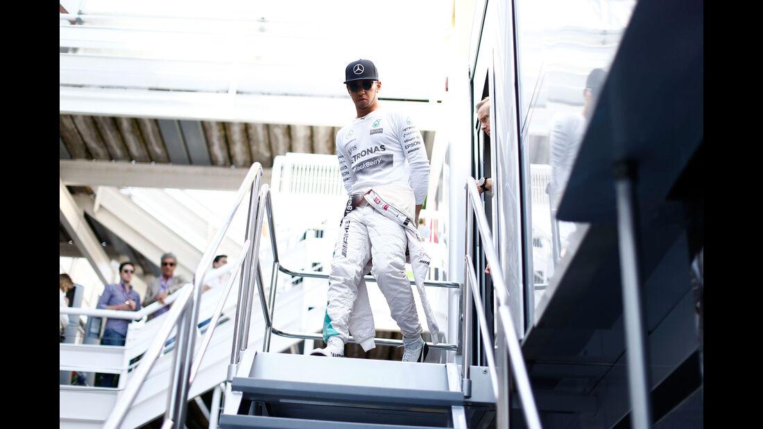 Lewis Hamilton - Mercedes - GP Spanien - Qualifying - Samstag - 9.5.2015