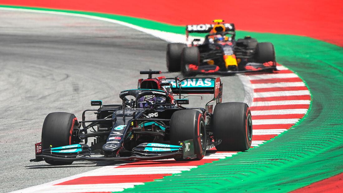 Lewis Hamilton - Mercedes - GP Steiermark - Spielberg - Formel 1 - 25. Juni 2021