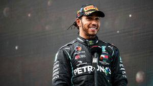 Lewis Hamilton - Mercedes - GP Türkei 2020 - Istanbul - Rennen