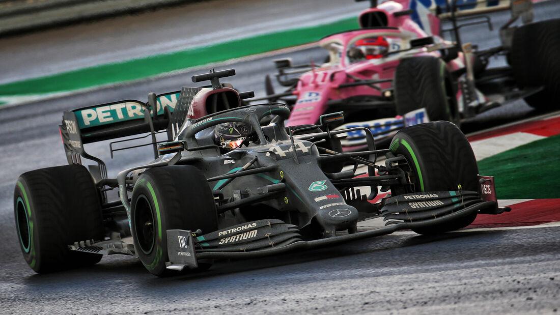 Lewis Hamilton - Mercedes - GP Türkei 2020 - Rennen